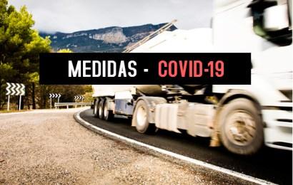 Medidas del estado de alarma que afectan al transporte de mercancías por carretera