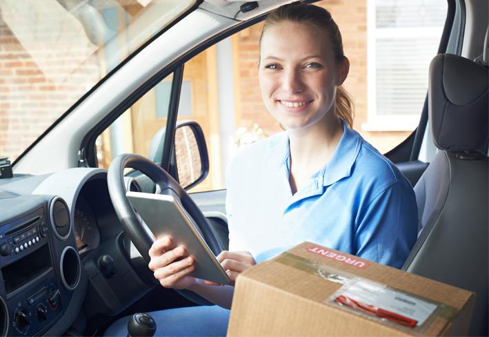 CURSO gratuito conductor/a profesional para la distribución urbana de mercancías (DUM) en vehículos ligeros N1 (furgoneta)