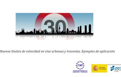 Manual sobre los nuevos límites de velocidad en vías urbanas
