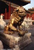 Gold Guard Lion