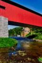 Pump House & Pine Grove Covered Bridge (1864)