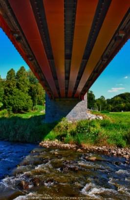 Looking Underneath Pine Grove Covered Bridge (1864)