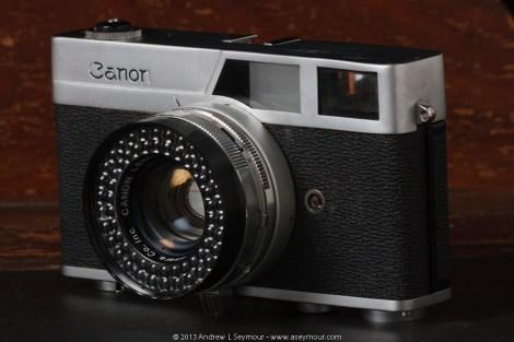 Canon Canonet (circa 1961)