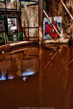 Abandoned Paper Mill Reflections hdr 09