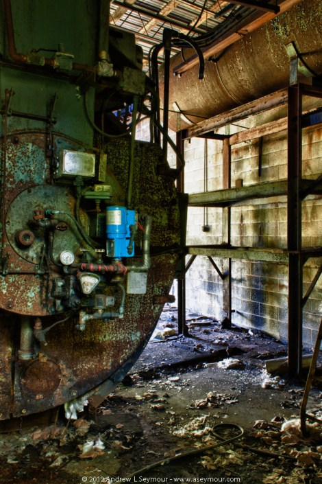 Abandoned Paper Mill hdr 07