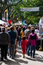 The street crowd