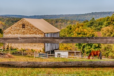 Barn view of the hills