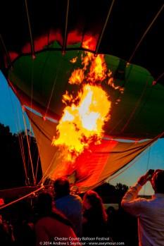 Glowing Balloon Flames 056