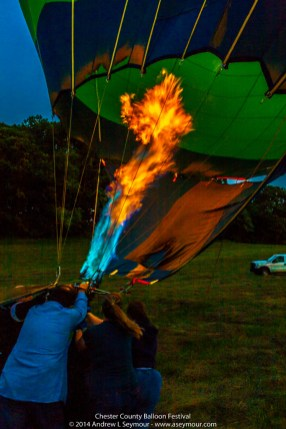 Glowing Balloon Flames 071