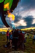 Glowing Balloon Flames 084