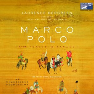 Marco Polo by Laurence Bergreen COVER