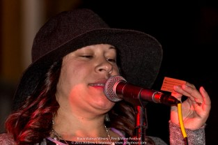 Kellina Holt singing at the 3rd annual Fire & Wine Festival at Black Walnut Winery in Sadsburyville, Chester County PA.