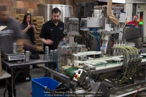 "Images taken during the fist canning of Stable 12 Brewing Company's ""Wild West - West Coast Style India Pale Ale""."