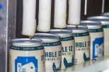 """Images taken during the fist canning of Stable 12 Brewing Company's """"Wild West - West Coast Style India Pale Ale""""."""
