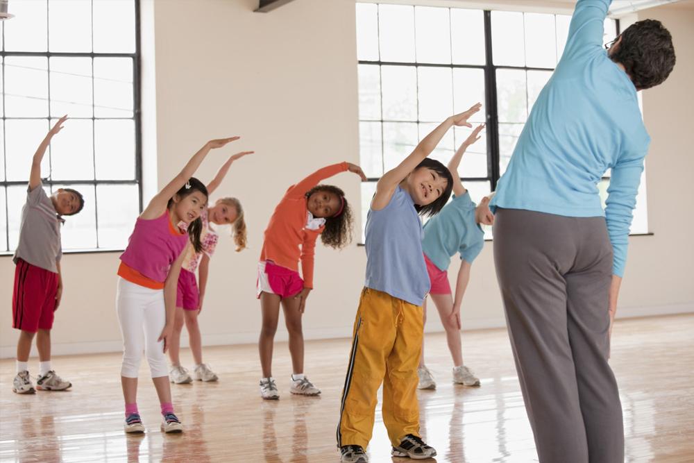 Vadba Za Otroke V Fitnes Centru As Fit Skofja Loka