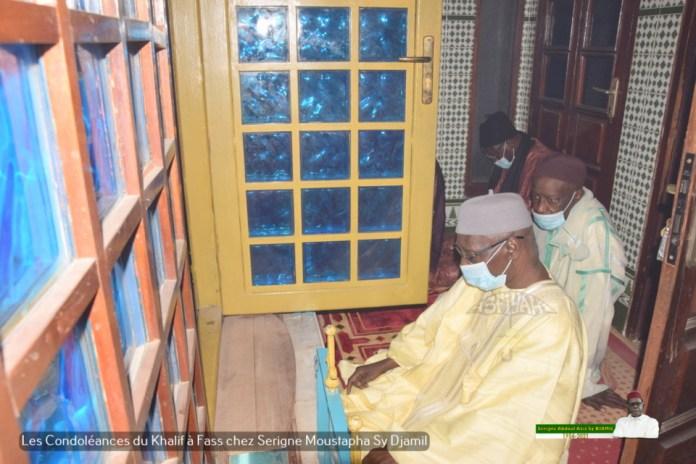 PHOTOS - FASS - Les Images des condoléances de Serigne Babacar Sy Mansour et de la famille Sy à la famille de Serigne Moustapha Sy Djamil suite au rappel à Dieu de Serigne Abdoul Aziz Sy Djamil