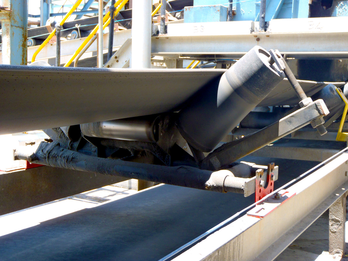 TruTrainer Tapered Troughing Idler  ASGCO Conveyor Solutions