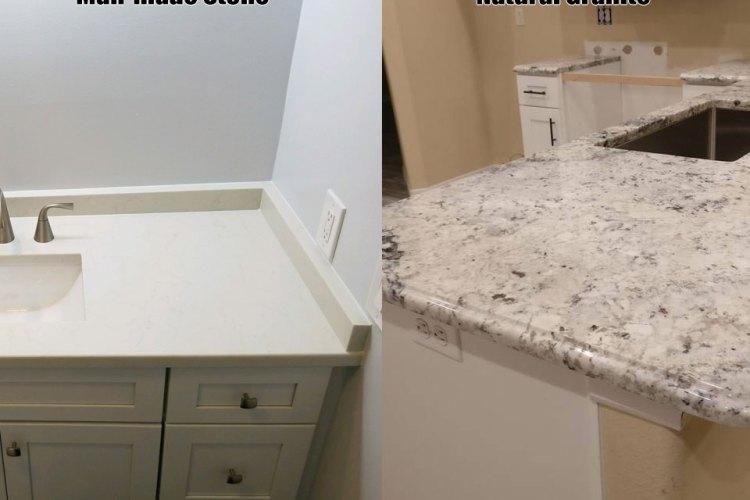 Choosing a Granite countertop or man made stone?