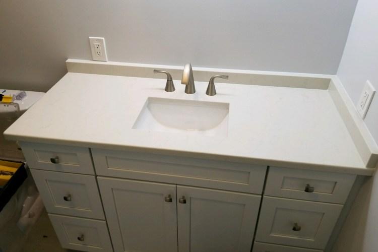 Beautify your bathroom with a quartz countertop