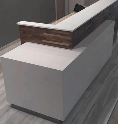Cambria - Commercial Desk Wrap Brandon, FL