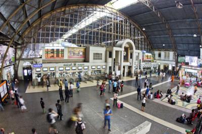 Hualamphong Station, Bankok