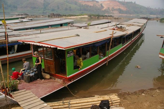 Mekong Slow Boat Huay Xai