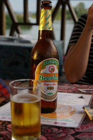 Beer Laos cheapest alcohol