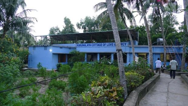 Karunalaya Leprakrankenhaus in der Tempelstadt Puri am Golf von Bengalen (Foto: C.M.)