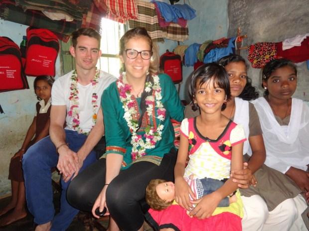 Besuch im Vivekananda Children Home in Kurtumgarh (Foto: Ashakiran)
