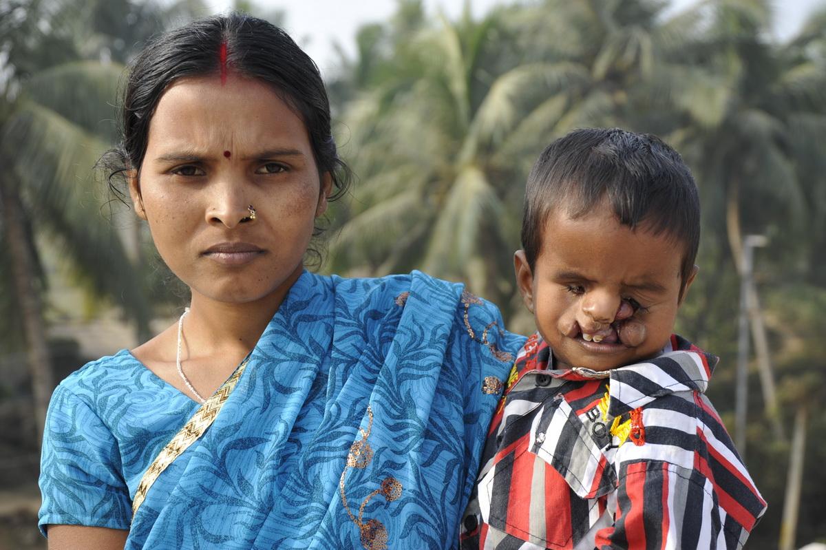 Verzweifelte Mutter, doch wir konnten ihr helfen (Foto: C.M.)