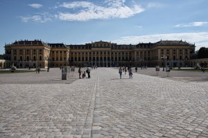 Schönbrunn Palace, Vienna. There are at least three palaces in the city!