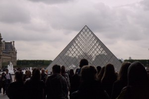 First sights at the Lourve
