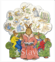 Bunny Tales Custom Jigsaw Puzzle for gifts
