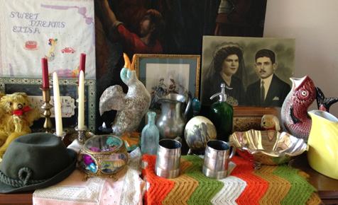 storing family treasures