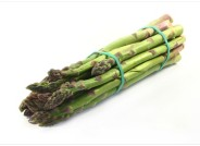 trim asparagus spears