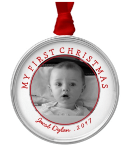 Pewter Photo Ornament