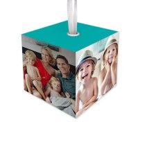 Photo Ornament Cube, Shutterfly
