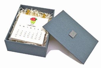 monthly calendar for the desk