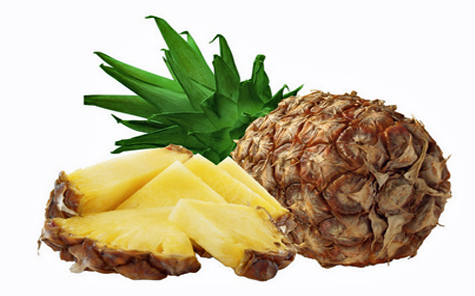 Pineapples are at their best