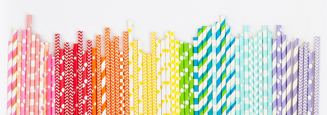 Straws for parties