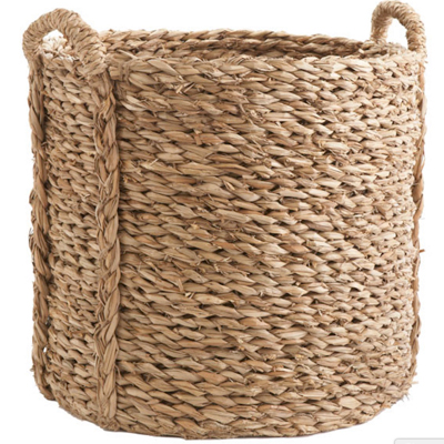 Firewood-Storage---Seagrass-basket