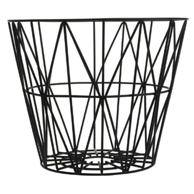 Firewood-storage---Ferm-wire-basket