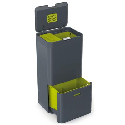 Hi tech Garbage-Bins---Totem-2-Bin-Recycler