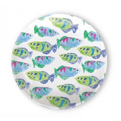 Melamine-Plates---fish-pattern-appetizer-plate