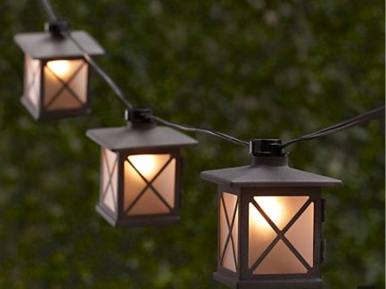 Party String Lights - Restoration Hardware Avignon String Lights
