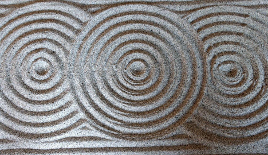 sand artists circles