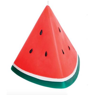 Watermelon-motif---candle