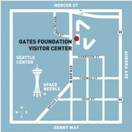 Visiting Seattle, Gates Foundation