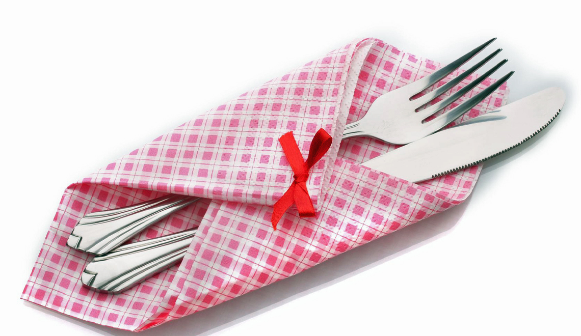 Inexpensive cloth napkins and placemats