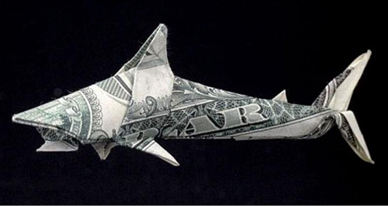 Amazing Origami Using Only Dollar Bills «TwistedSifter | 425x800